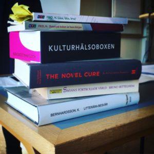 Böcker som inspirerar till det biblioterapeutiska arbetssättet